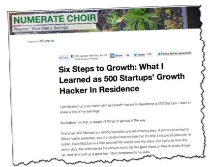 6 steps to growth Mike Greenfield