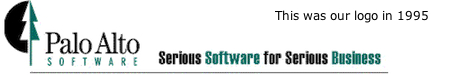 Early Palo Alto Software Logo