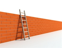 wall and ladder istock.com