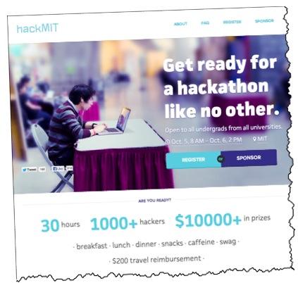 MIT hackathon hackmit.org