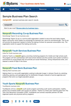 QA That Nonprofit Business Plan Bplans - Non profit organization business plan template