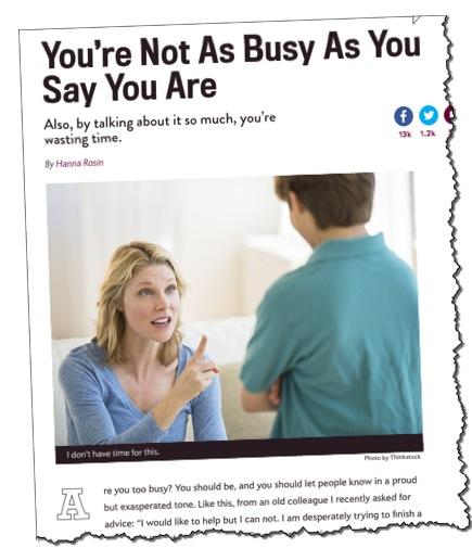Slate.com book review Overwhelmed Brigid Schulte
