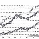 Line chart istock