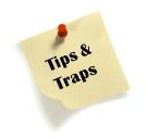 Tips and traps