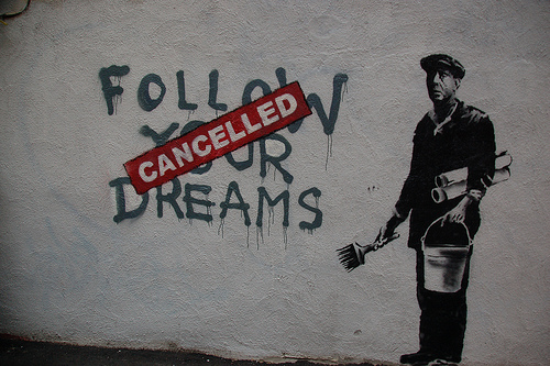 Chris Devers Flickr cc Dreams Cancelled