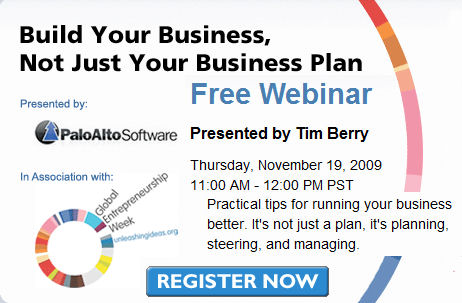 sba business plan webinar recording
