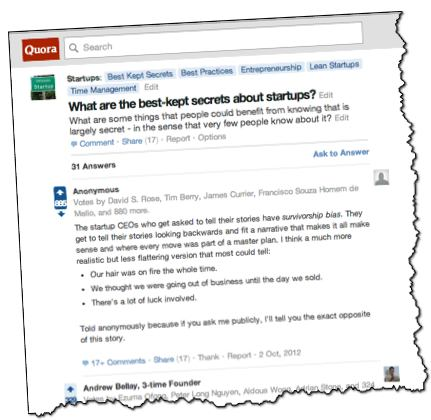 Best kept secrets of startups quora.com