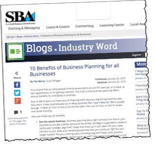 10 Benefits of Business Planning for All Businesses - Planning