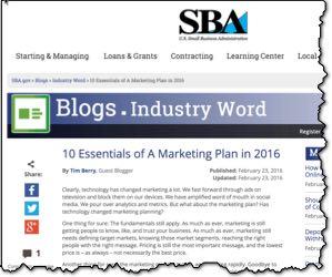 10 Marketing Plan Essentials